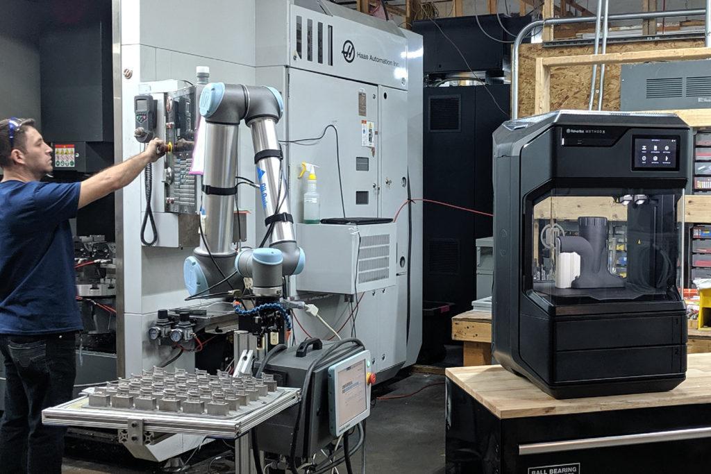případová studie makerbot method robotický nástavec