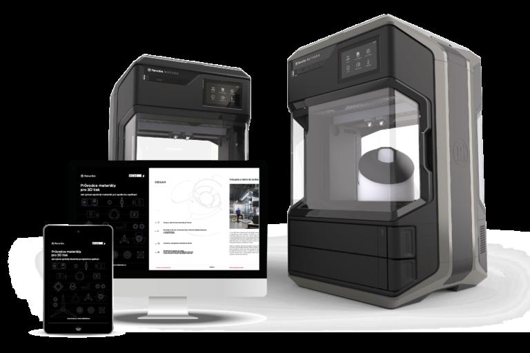 MakerBot Průvodce 3D tiskovými materiály