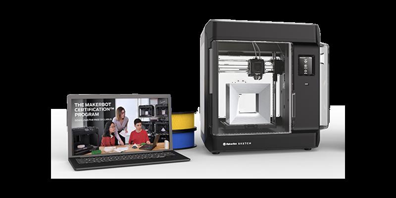 makerbot sketch classroom 3D tiskárna do škol