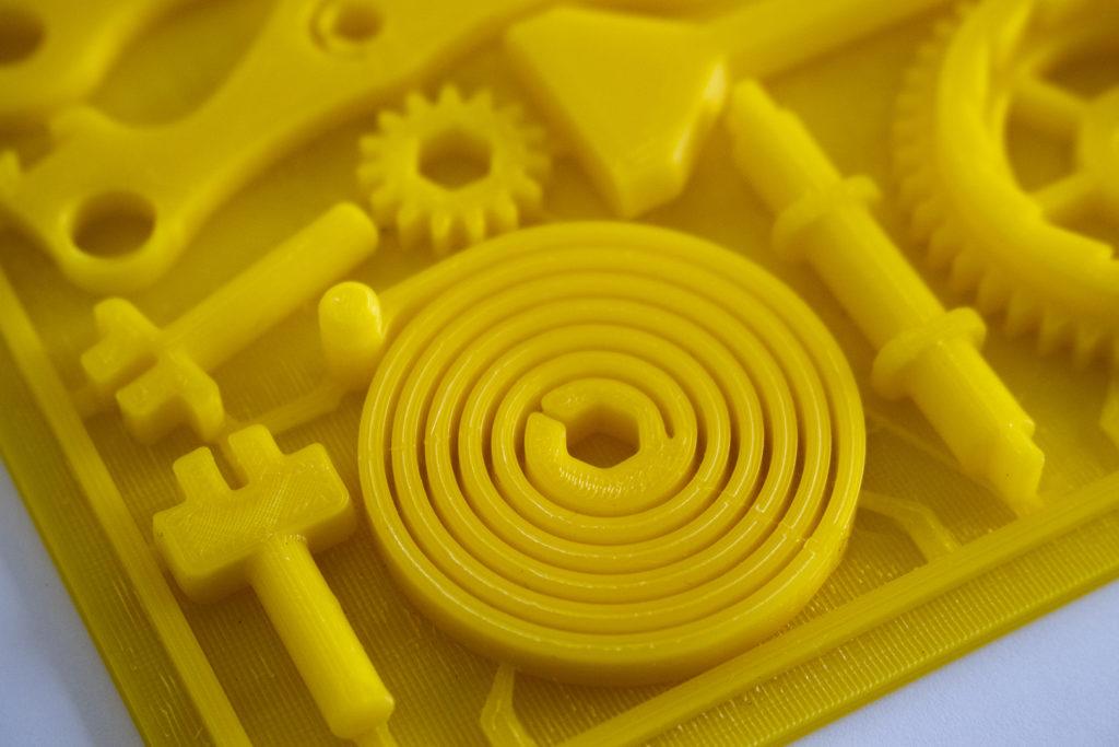 výtisky z 3D tiskárny pro žáky