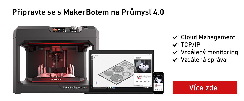 Připravte se s MakerBotem na Průmysl 4.0