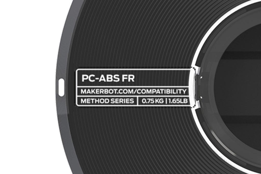 makerbot materiál pc-abs fire retardant